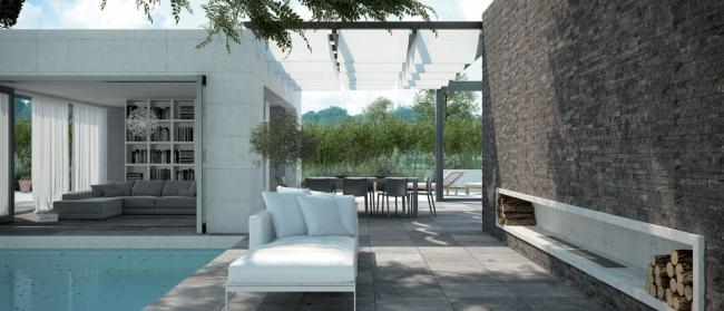 pavimenti in ceramica - esterno